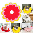Pet Cat Flower Ring Anti-bite Anti-smashing Sun Flower Saliva Towel Felt Cloth
