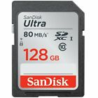 Sandisk 16GB 32GB 64GB 128GB ULTRA SDHC Class 10 Flash Memory Camera SD Card