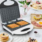 Used, Electric Commercial Waffle Makers Sandwich Breakfast Automatic Home Toaster for sale  Shipping to Canada