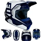 New 2020 Fox Racing Youth V1 Prix Helmet Navy All Sizes UTV ATV MX