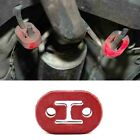 Auto Exhaust Pipe 2-hole Glue Hanger Muffler Modified Two-hole Glue Hanger CA