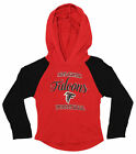 OuterStuff NFL Youth Girls Long Sleeve Hooded Shirt, Atlanta Falcons $17.5 USD on eBay