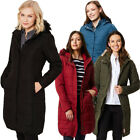 Regatta Womens Fermina II Quilted Water Repellent Insulated Hooded Coat Jacket