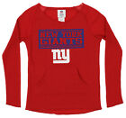 OuterStuff NFL Youth Girls Team Color Thermal and Fleece Top, New York Giants $18.99 USD on eBay