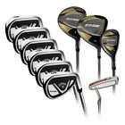 Callaway EDGE 10-Piece Golf Clubs Set 10.5 Regular Right Handed or Left Handed