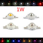 1W LED Beads Lamp Diodes High Power Chip Whi Red Grn Blu Org Yel RGB TZ1