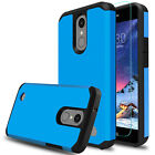 For LG Aristo 3/ 3 Plus/ Tribute Empire Armor Case Cover With Screen Protector