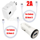 Original Samsung Galaxy S5 Galaxy Note3 OEM Wall Charger Data Sync USB Cable