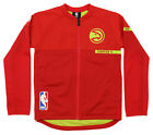 Adidas NBA Youth Boys (8-20) Atlanta Hawks On Court Full Zip Jacket, Red on eBay