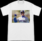 Ken Griffey Jr The Kid Nickname Seattle Mariners White T Shirt S-2XL on Ebay