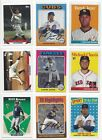 2019 TOPPS ARCHIVES #'s 201-330 ( RC's, STARS, HOF ) - WHO DO YOU NEED!!! on Ebay