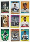 2019 TOPPS ARCHIVES #'s 201-330 ( RC's, STARS, HOF ) - WHO DO YOU NEED!!!