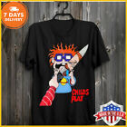 Rugrats Meets Child's Play Chuckie T Shirt Chucky Horror Black T-Shirt Full Size image
