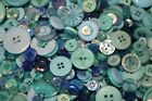 Hand Dyed New Buttons in 12 Beautiful ColorMix Lot of 50-Art, Crafts &Sewing