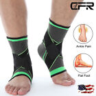 ADJUSTABLE ELASTIC ANKLE SLEEVE Brace Guard Foot Support Sports Basketball Wraps $5.79 USD on eBay