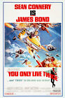 You Only Live Twice Bond Movie Poster Iron On Heat Tee T-Shirt Transfer £2.39 GBP on eBay
