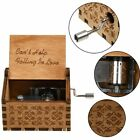 Harry Potter Music Box Wooden Hand Engraved Hedwing's Theme Toys Gift US