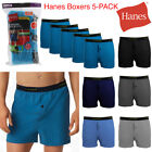 Hanes Men's 5 Pack Tagless Comfortsoft Waistband T Shirt Soft Boxers