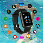 Smart Watch Bluetooth Heart Rate Oxygen Blood Pressure Sport Fitness Tracker NEW