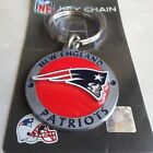 Official NFL New England patriot 3D carved metal key chain with fine details $5.9 USD on eBay