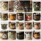 BATH AND BODY WORKS 3 WICK CANDLES, You Choose Scent,   FALL & HALLOWEEN   NEW
