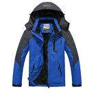 Men's Winter Ski Jacket Coat Snow Waterproof Windbreaker Fleece Warm Outerwear