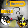 More images of Petrol Compactor Compaction Wacker Plate RocwooD 14 With FREE Pad & Wheel Kit