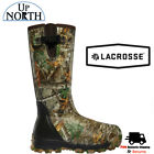 Lacrosse Alphaburly 1000g Insulated Side Zip Rubber Boots Realtree Free Shipping