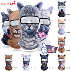 3D Animal Cycling Balaclava Ski Face Mask Biker Neck Warmer Bandana Scarf Cap