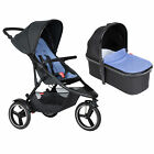Phil & Teds Dash Pushchair/Stroller with Carrycot – Birth-20kg