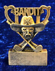 Comical Golf Trophies Does Your Girlfriend Play Bandit Joke Gift FREE Engraving