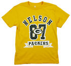 NFL Football  Kids / Youth Green Bay Packers Jordy Nelson #87 T-Shirt - Gold $12.99 USD on eBay