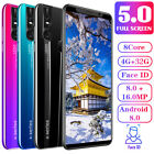 """6.3"""" 4+32gb Smartphone X27/x27 Plus Android 9.1 Unlocked Octa Core 3g Cell Phone"""