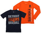 Outerstuff MLB Youth Detroit Tigers Fan Two Piece Performance T-Shirt Combo Set on Ebay