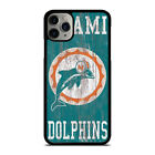 MIAMI DOLPHINS WOODEN LOGO iPhone 5/5S/SE 6/6S 7/8 Plus X/XS Max XR Case $15.9 USD on eBay