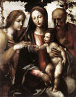 IL SODOMA THE MYSTIC MARRIAGE OF ST CATHERINE ARTIST PAINTING REPRODUCTION OIL