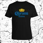 CORONA Beers Mexico Liquor Beverages Logo Mens Fruit of the Loom S to 3XL