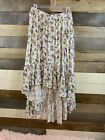 Womens Hi-Low Skirt. Floral. NWT