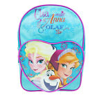 Girls Backpack Disney New Frozen Anna Elsa Olaf School Kids Shoulder Heart Bag
