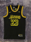 NWT LeBron James 23 Los Angeles Lakers Men's BLACK MAMBA Basketball Jersey on eBay