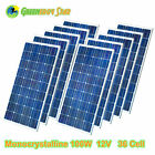 100 Watt 100W 200W 400W 1000W Mono 21V Solar Panel For 12V Car Boat Home Roof  for sale  Shipping to South Africa