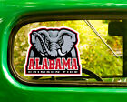 2 Alabama Crimson Tide Decal Stickers Bogo For Car Bumper Laptop Rv Window Jeep