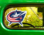 2 COLUMBUS BLUE JACKETS HOCKEY STICKER Decal Bogo For Car Bumper Laptop window $3.95 USD on eBay