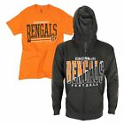 Junk Food NFL Men's Cincinnati Bengals Hoodie and T-Shirt Combo Pack $54.95 USD on eBay