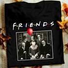 Horror Friends Pennywise Michael Myers Jason Voorhees Halloween Men T-Shirt image