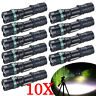 Lot Tactical Powerful Zoomable T6 LED Flashlight 18650 Torch Light Aluminum NEW!