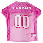 Pets First Houston Texans NFL Pink Mesh Jersey $23.99 USD on eBay
