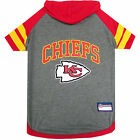 Pets First Kansas City Chiefs Hoodie Tee Shirt For Dogs $13.59 USD on eBay