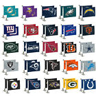 "Football Car Hood Trunk Flags Set of Two Double Sided Ambassador 4"" x 6"" $13.99 USD on eBay"