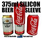 Australian 375ml Hide A Beer Silicone Beer Can Sleeve Cover Reuseable Coca Cola $9.4  on eBay